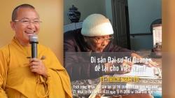 Di Sản Đại Sư Trí Quang Để Lại Cho Việt Nam